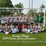 5-31-19 - DISTRICT LADY SOCCER CHAMPIONS - FREELAND FALCONS (8) VS. CHIPPEWA HILLS WARRIORS (0)