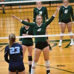 Varsity Volleyball Sweeps Home Quad Meet