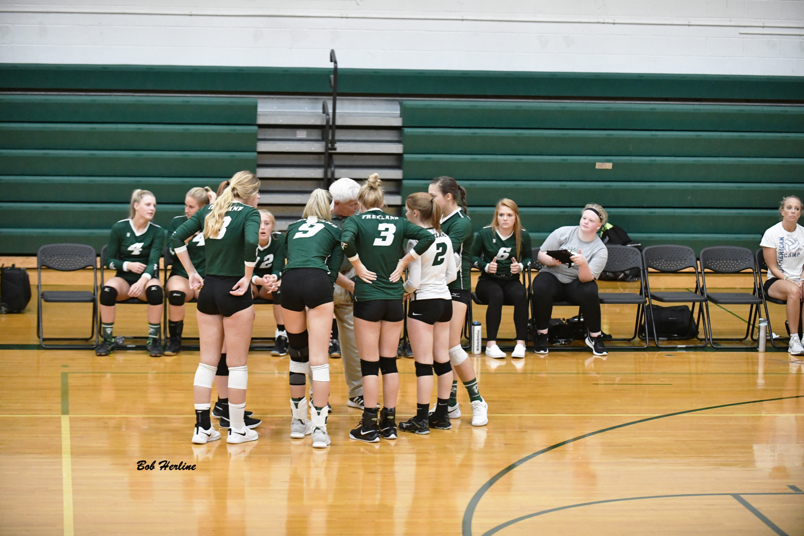 Volleyball Wins at Swan Valley