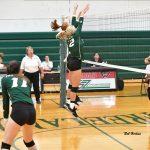 Varsity Volleyball Sweeps Alma