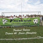 10-19-19 - MHSAA DISTRICT 44 SOCCER CHAMPIONSHIP - FREELAND (3) VS. BULLOCK CREEK (0)