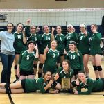 JV Volleyball Team Takes 1st