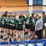 11-19-19 - VOLLEYBALL QUARTERFINAL - FREELAND (0) VS. KINGSLEY (3)
