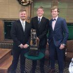 Dreyer Earns Hawkins Award Scholarship