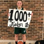 Blanchard Records 1,000 Point In Win Over Alma