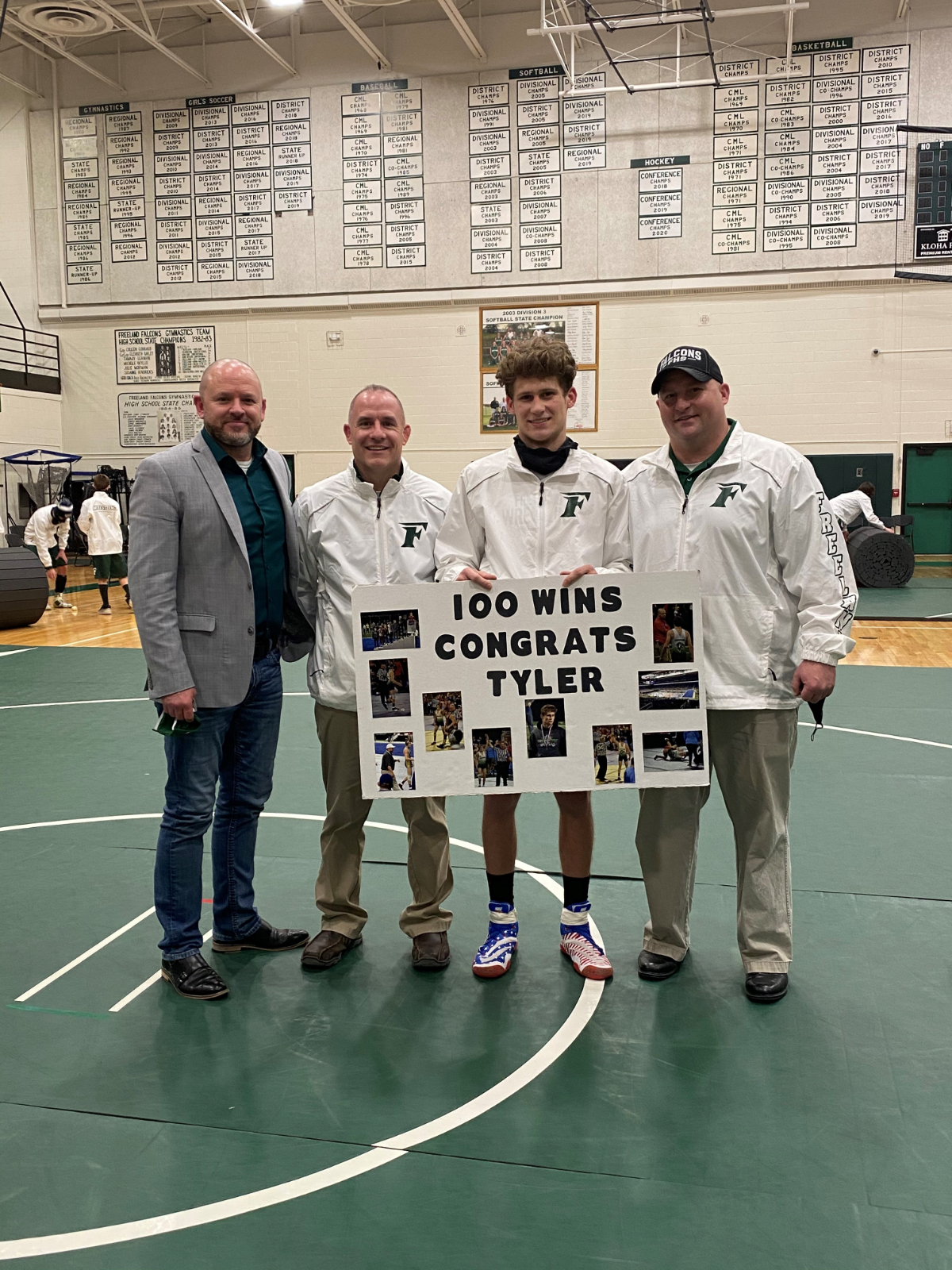 New Member of 100 Win Club
