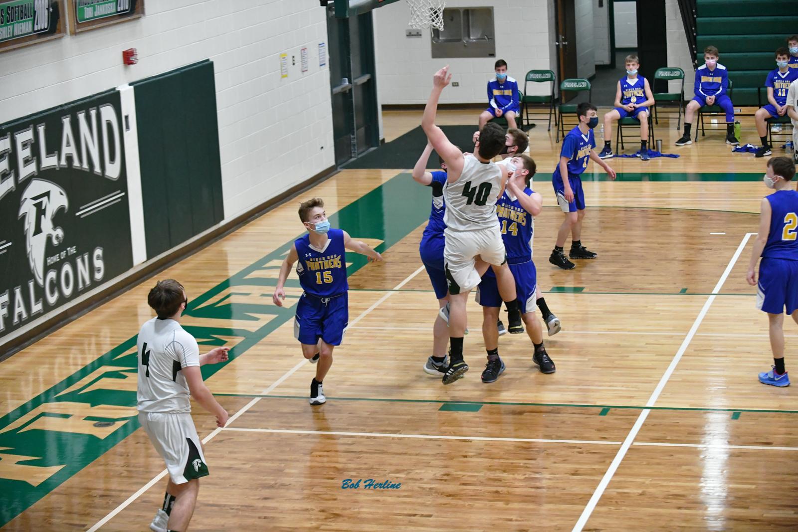 3-11-21 – BOYS JV BASKETBALL – FREELAND HIGH SCHOOL (68) VS. BIRCH RUN HIGH SCHOOL (25)