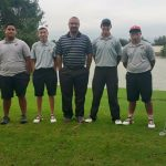 E-E Boys Golf Team at The E-E Gold Tournament