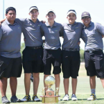 Boys Golf Wins District 32-5A Championship