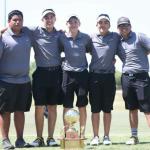 Boys Golf Wins District 32-5A Championship
