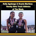 Girls Track and Field Athletes of The Week