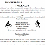 Summer Track and Field Info