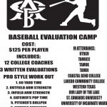 ATTENTION BASEBALL ATHLETES