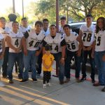 Yellow Jackets @ JFK Elementary for Jacket Escort and Pride Walk