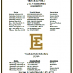 Attention Jackets! Track & Field Interest meeting to be held Jan. 4