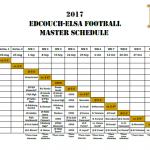 2017 Football Schedule