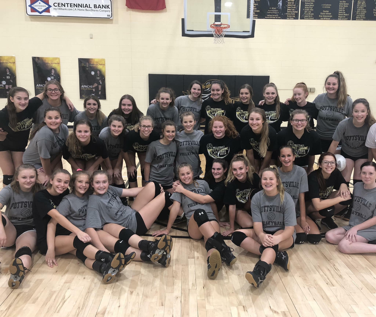 Lady Apache Volleyball Camp 2019