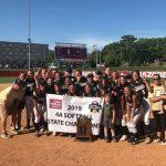 Lady Apache Softball 4A State Champions