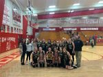 Junior Lady Apaches win district title