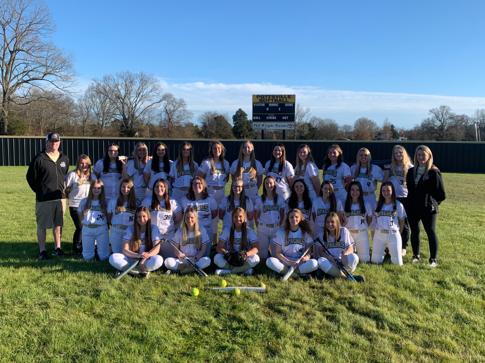 Softball: Lady Apaches Top Dover