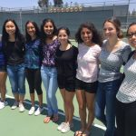 GIRLS TENNIS PLAYS WELL IN USTA TOURNEY
