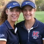 SJOERDSMA SISTERS LEAD WAY TO LOWEST ROUND