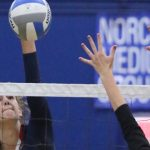 FIRED UP, VOLLEYBALL WINS AT NORCO