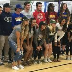 STUDENT-ATHLETES MAKE THEIR COLLEGE CHOICES OFFICIAL