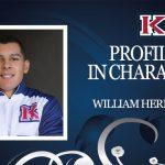PROFILE IN CHARACTER – WILLIAM HERNANDEZ