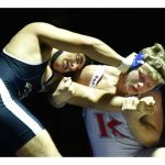 WRESTLING ADDS THREE NEW LEAGUE CHAMPS