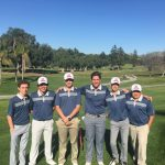 GOLF CARDS THIRD IN POLY TOURNAMENT