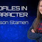 PROFILE IN CHARACTER – MADISON STAMEN