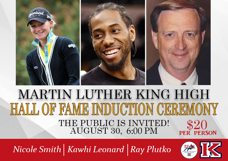 BE A PART OF THE HALL OF FAME CEREMONY – TIX ON SALE!