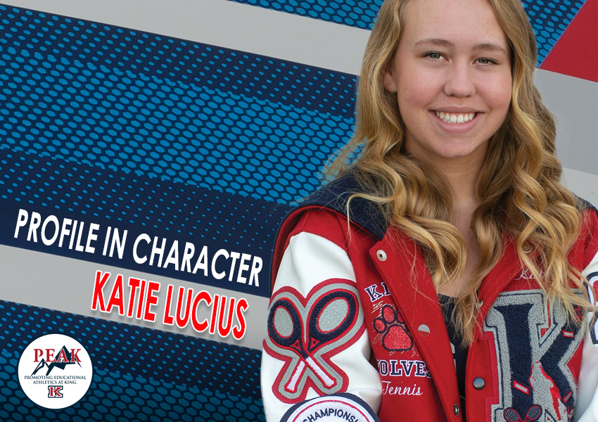 PROFILE IN CHARACTER – KATIE LUCIUS