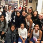 NO TRICKS, ALL TREATS FOR TENNIS IN CIF ROUND 1