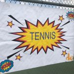 MUDDLING THROUGH, TENNIS GETS THE WIN