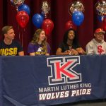 FALL NLI CEREMONY INKS 14 COLLEGE BOUND SENIORS