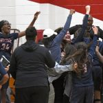 RAYA SMITH TAKES OVER LATE AS KING GIRLS BASKETBALL CLINCHES THIRD STRAIGHT LEAGUE TITLE
