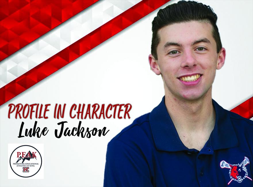 PROFILE IN CHARACTER – LUKE JACKSON
