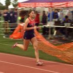 TRACK WEATHERS THE COMPETITION, WINS SEASON OPENER