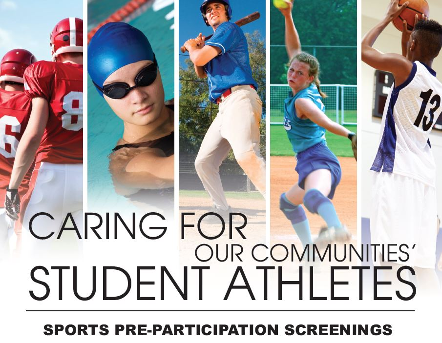 SPORTS PHYSICALS TO BE HELD ON CAMPUS