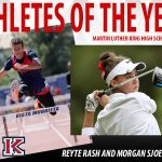 RASH, SJOERDSMA ARE THE 2019 ATHLETES OF THE YEAR