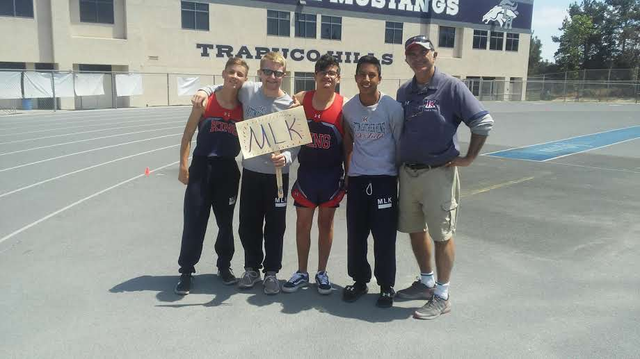 TOGETHER, TRACK AND FIELD GOES FARTHER