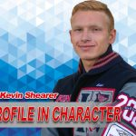 PROFILE IN CHARACTER – KEVIN SHEARER