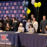 ATHLETICS STAGES FALL NATIONAL LETTER OF INTENT SIGNING CEREMONY