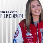 PROFILE IN CHARACTER – TATUM LAKSHIN