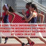 TRACK AND FIELD INFORMATION MEETINGS TO BE HELD