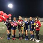 SENIOR NIGHT WARMS AN OTHERWISE COLD NIGHT