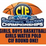 CIF ACTION FOR POLO, BASKETBALL STARTS THIS WEEK