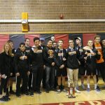 Erie High School Coed Varsity Wrestling finishes 1st place